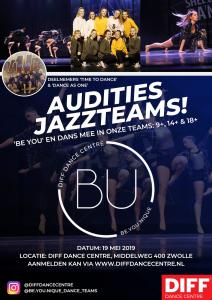 Auditie Jazzteam